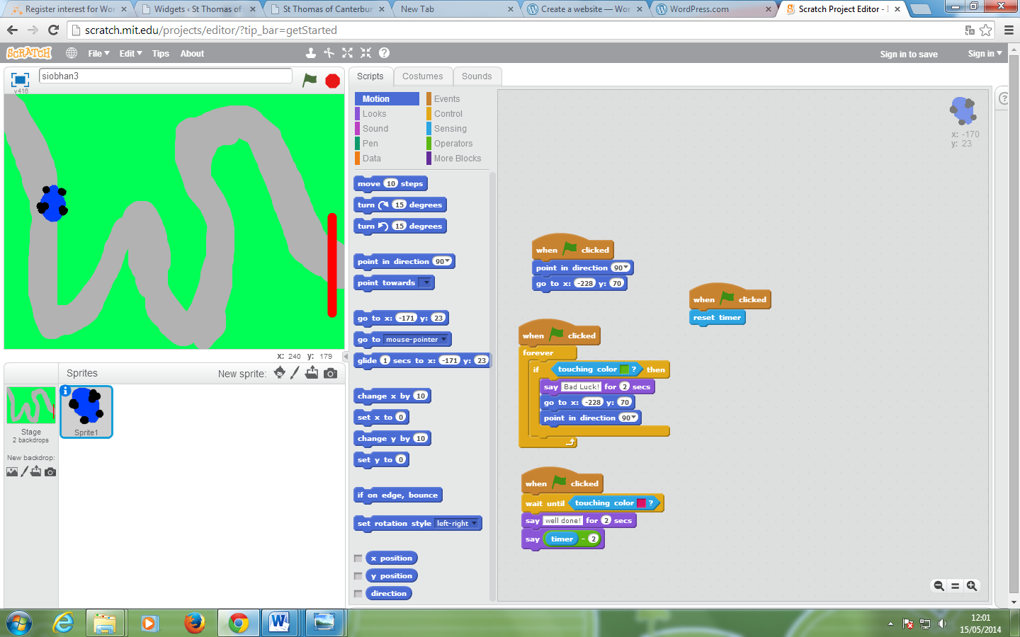 Scratch Computing At St Wilfrid S Primary