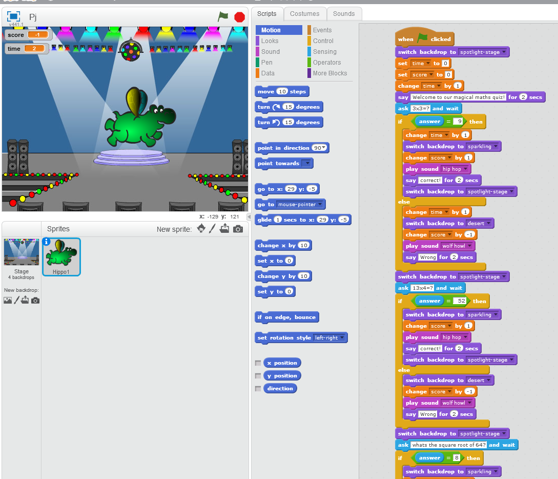 Year 5_6 Unit 5/6E Scratch Games and Quizzes | Computing at St ...