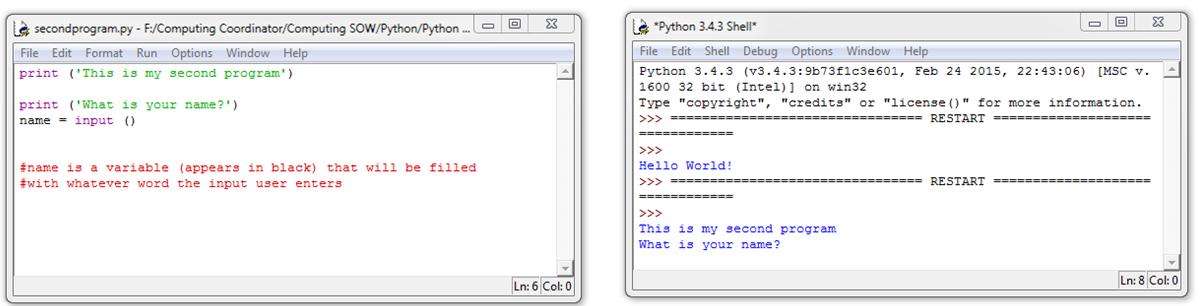how to run a python script inside python shell